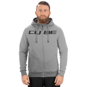 Cube Zip Hoody Hoodie Men Cube grey